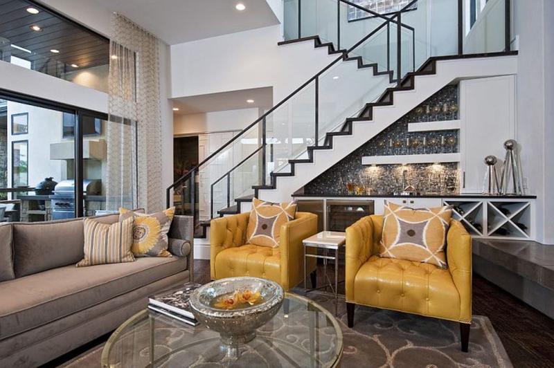 Thiết kế tận dụng không gian gầm cầu thang