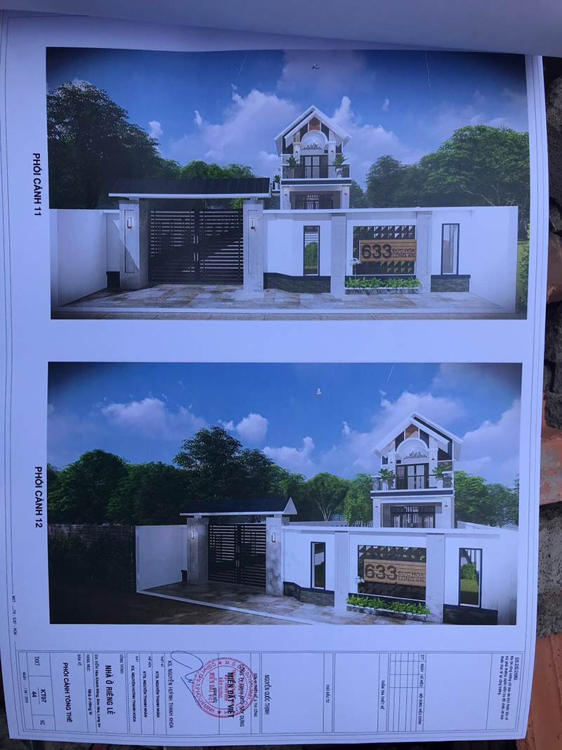 Thiết kế thi công biệt thự nhà vườn