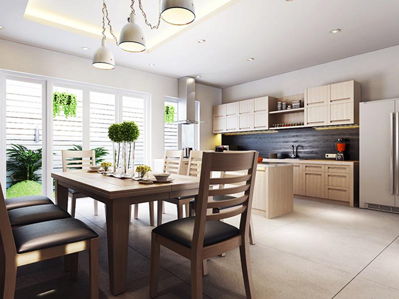 Thiết kế nội thất bếp đẹp 2020