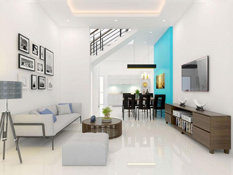 Thiết kế nội thất nhà phố đẹp, thông thoáng