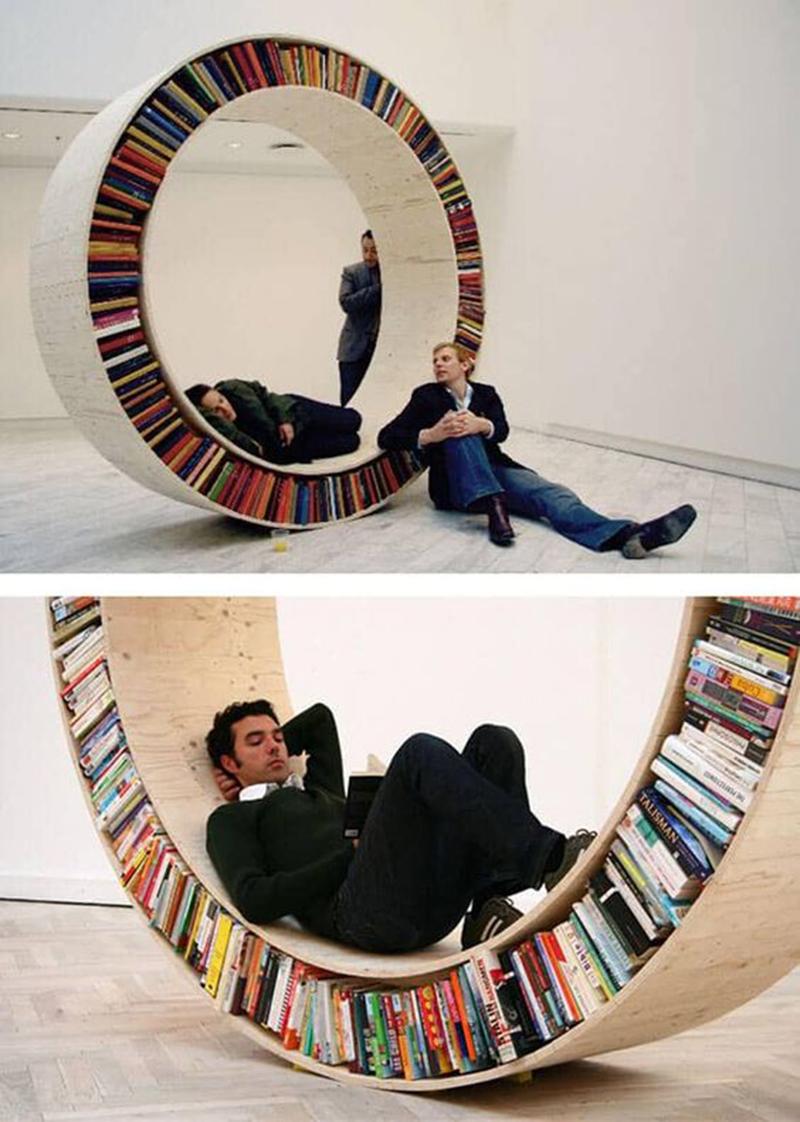 Thiết kế nội thất phòng đọc sách đẹp