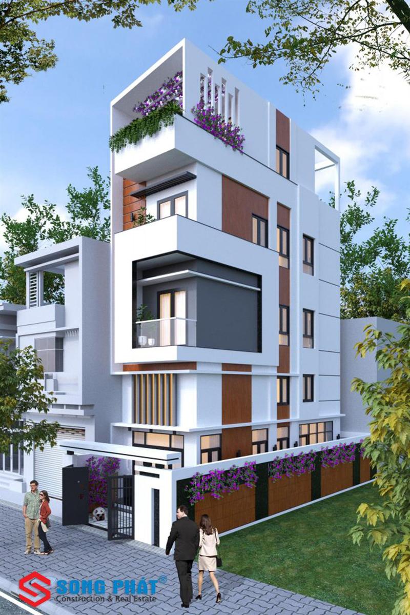 Thiết kế thi công nhà phố đẹp 2020