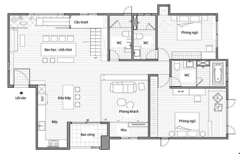 Thiết kế xây dựng nhà phố