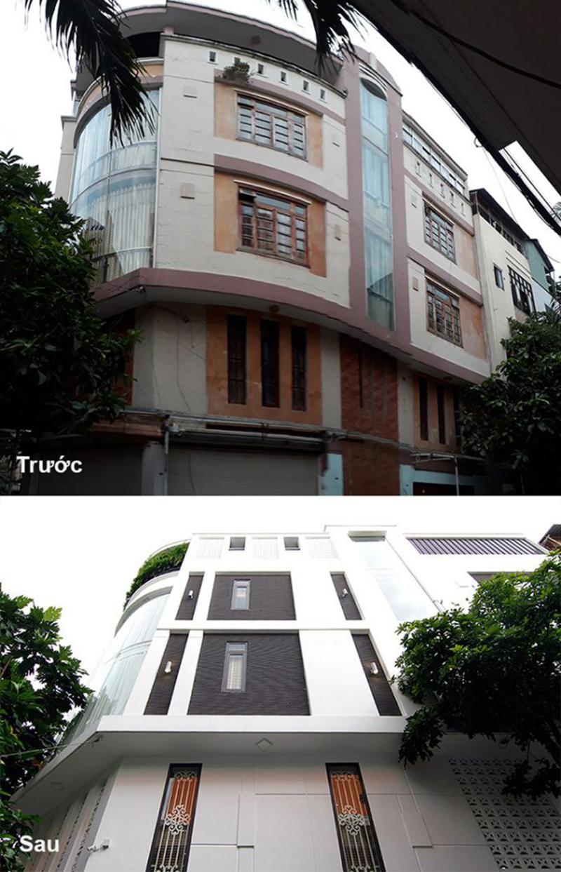 Thiết kế thi công cải tạo nhà phố
