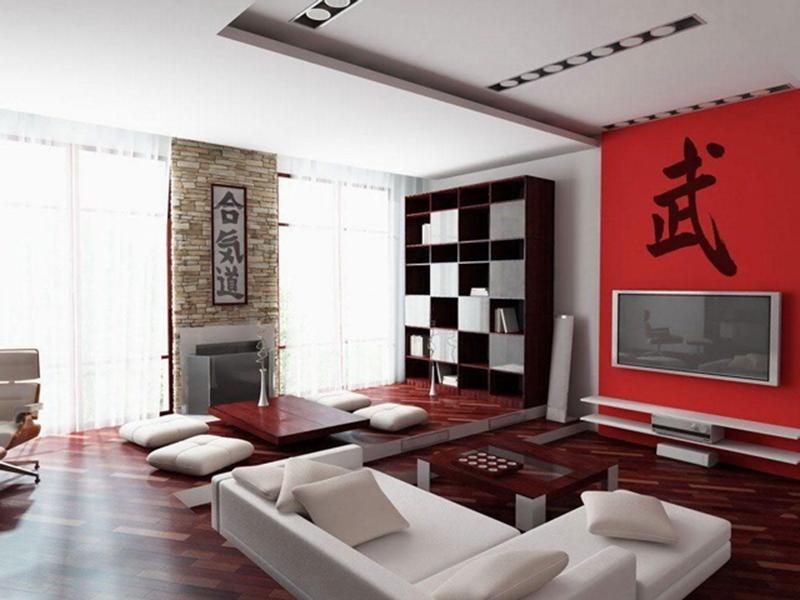 Thiết kế nội thất phòng khách đẹp với phong cách Nhật