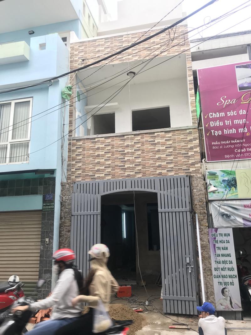 Thiết kế thi công nhà phố tại HCM