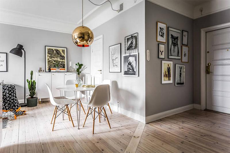 Thiết kế nội thất căn hộ 60m2 đẹp