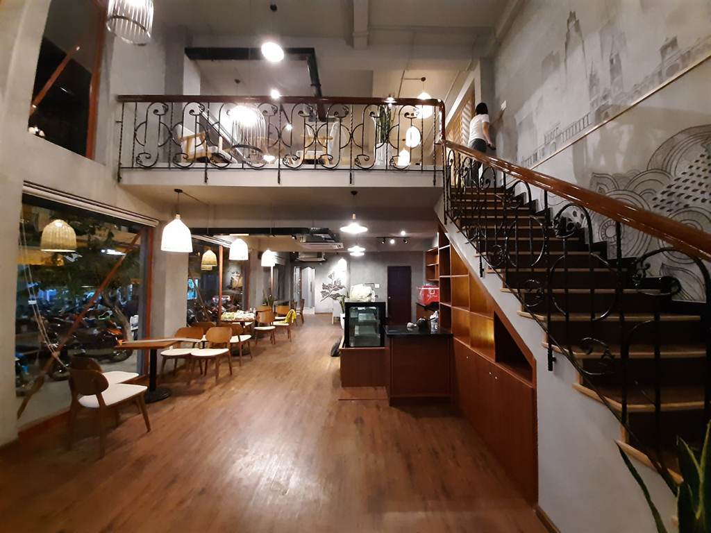 Thiết kế thi công trọn gói quán cà phê